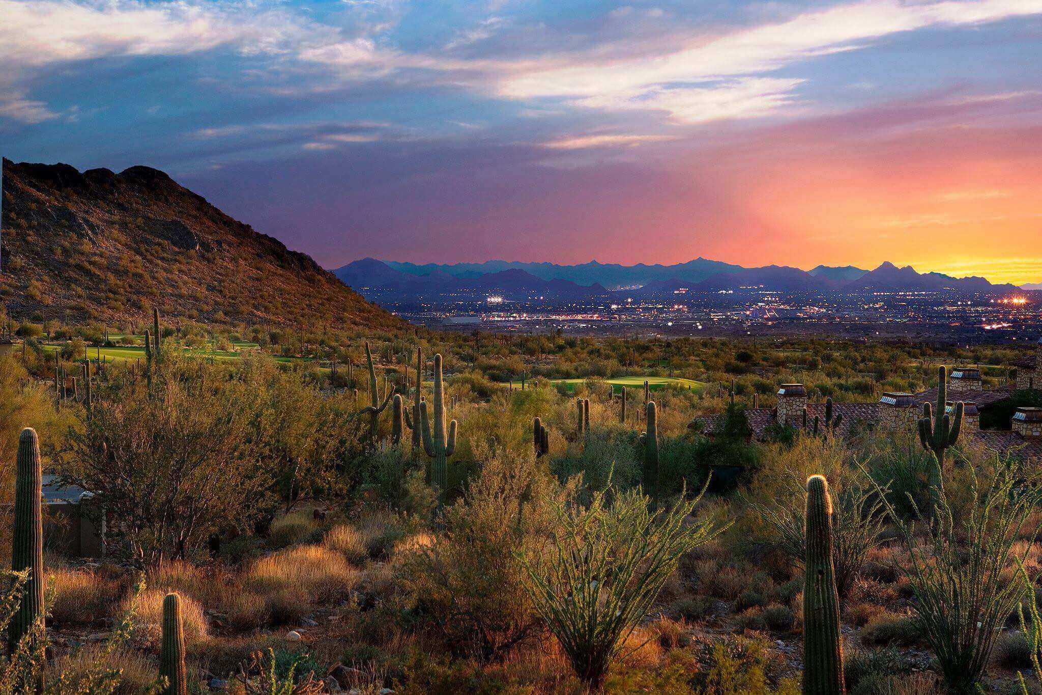 Scottsdale desert views